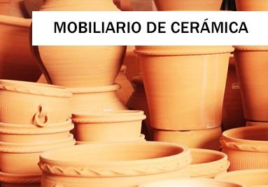 Mobiliario de cerámica
